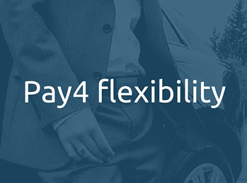 The Pay4 finance solution is flexible, Pay4 Flexibility