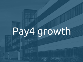 Use the Pay4 finance facility for business growth. Pay4 Growth finance solutiion