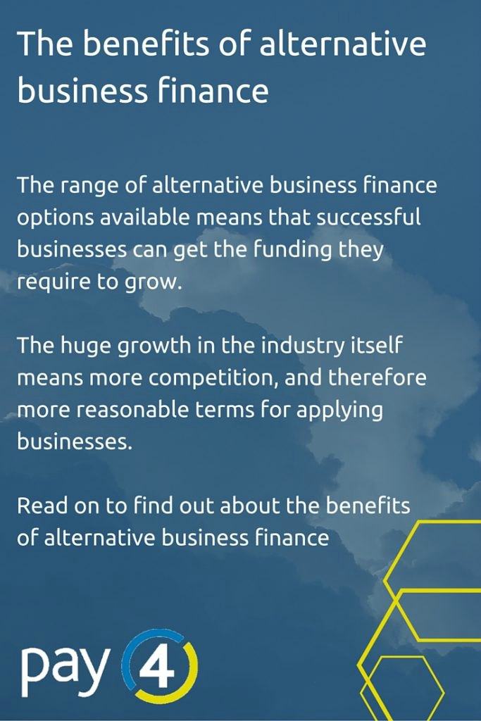 The benefits of alternative business finance