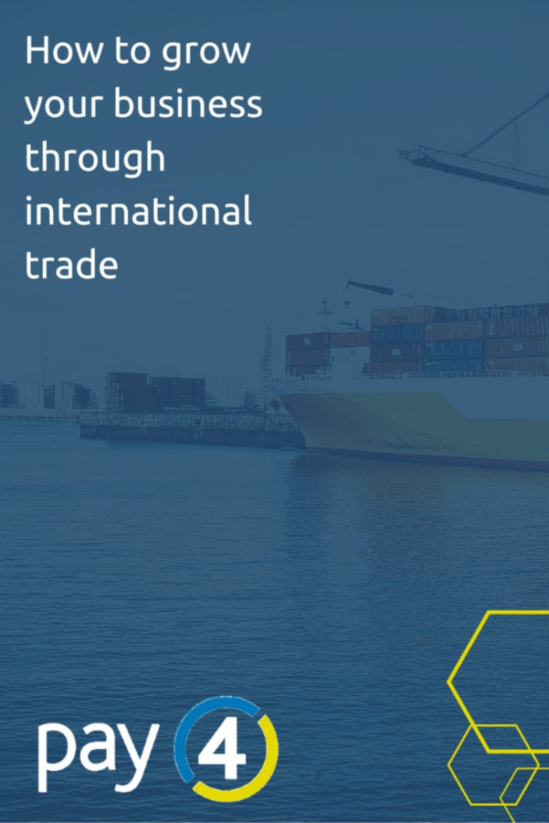 How to grow your business through international trade