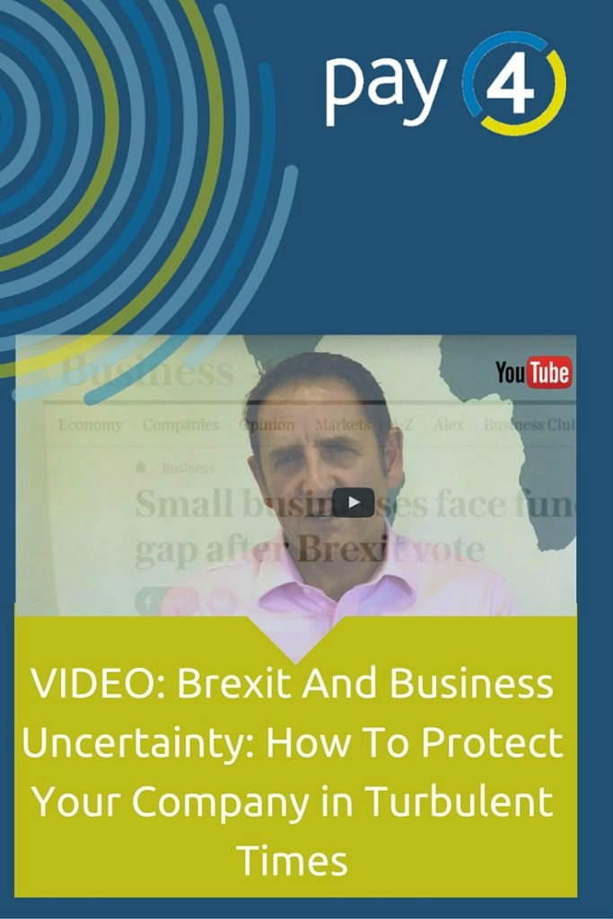 Brexit and business uncertainty. How to protect your company in turbulent times