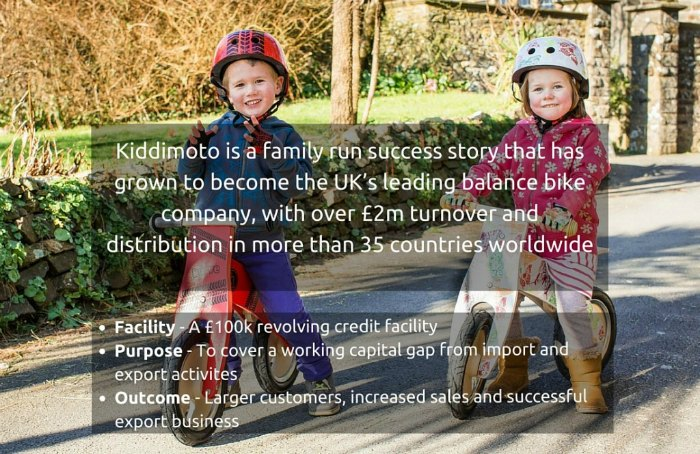 Kiddimoto is a family run success story
