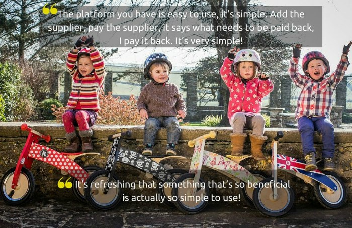 Kiddimoto testimonial for Pay4