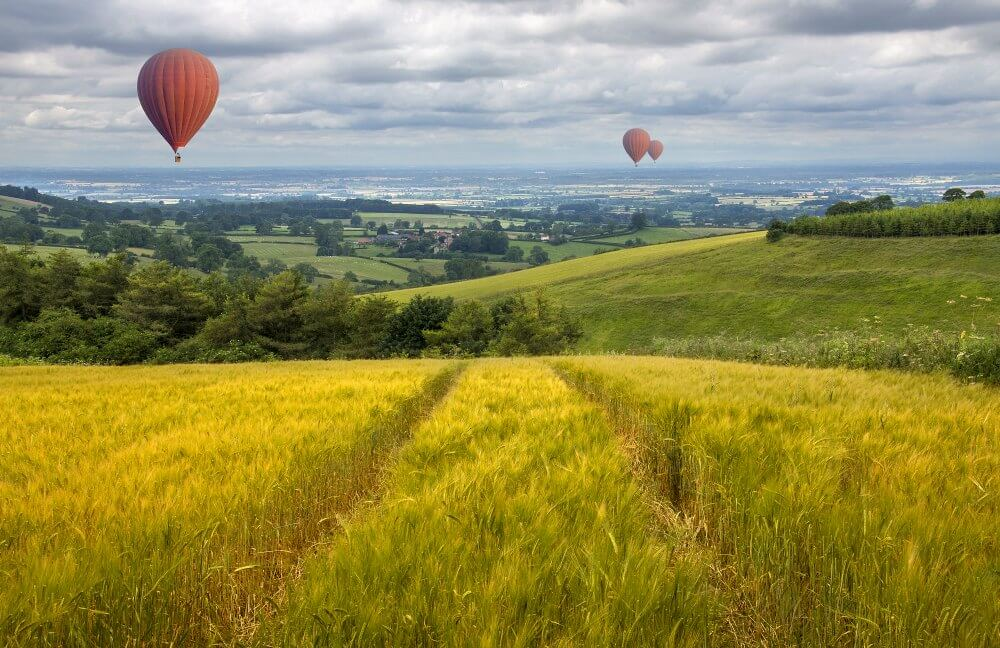 UK Business Finance - the British countryside